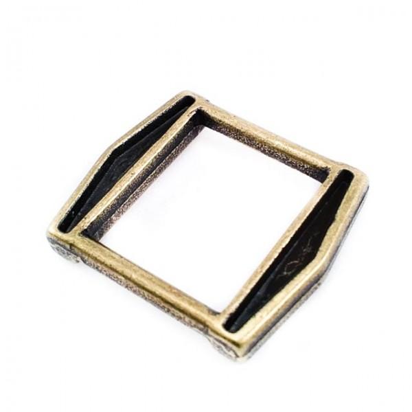 16.7 x 14.5 mm Thick Edge Metal Frame Buckle E 1615