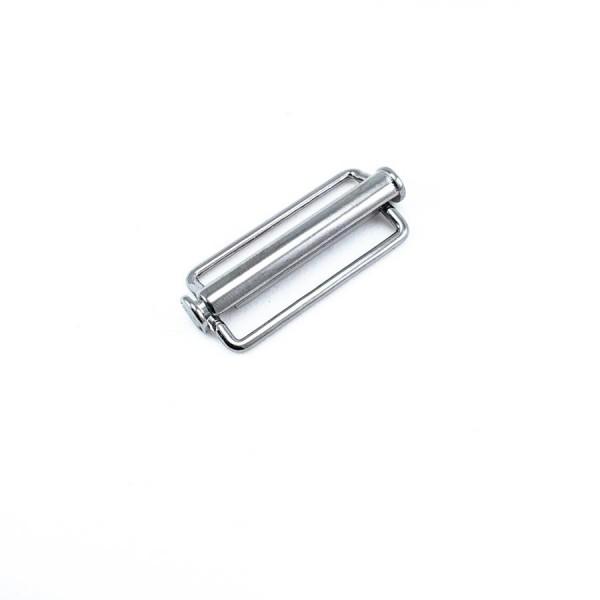 16.7 x 14.5 mm Thick Edge Metal Frame Buckle E 1037