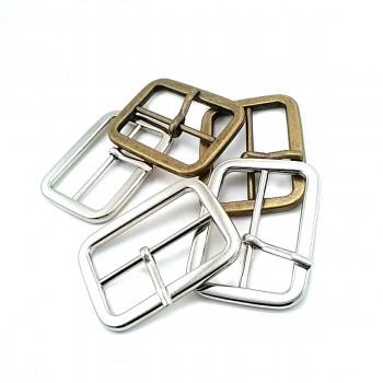 Rectangular plain buckle zinc alloy metal 35 mm E 2005