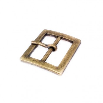 22 mm Rectangular belt buckle - metal E 2047