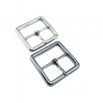 32 mm Square metal buckle E 2116