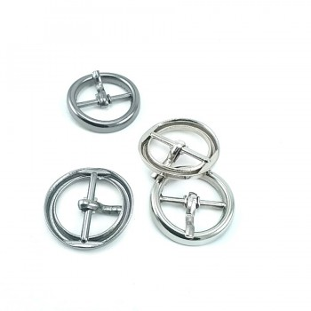 Round tongue ring buckle 26 mm E 2128