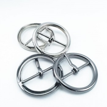 Round tongue ring buckle 18 mm E 2130