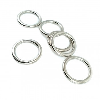 25 mm Metal Ring Buckle E 2185