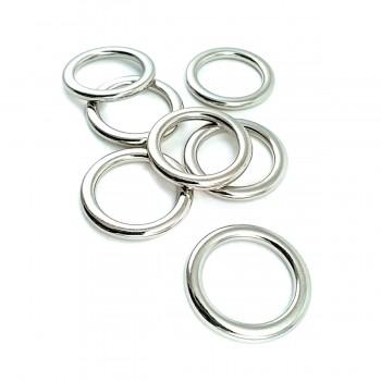 20mm Ring Zamak Buckle E 2187