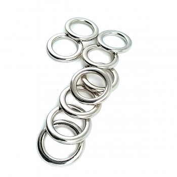16.2 mm Metal Ring Buckle E 2189