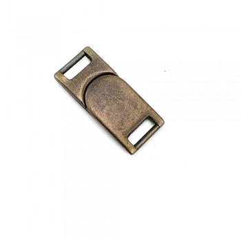 12 mm Metal Snap Buckle - E 23