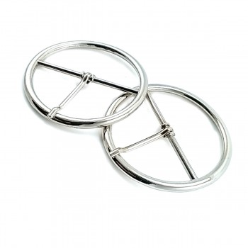 59 mm Metal Tongue Ring Buckle E 422