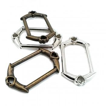Heart Charm Frame Buckle 30 mm E 567