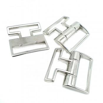 34 x 13 mm Snap metal buckle E 647