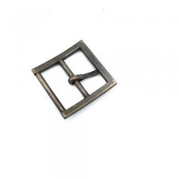 24 mm Plain Square Belt Buckle E 735