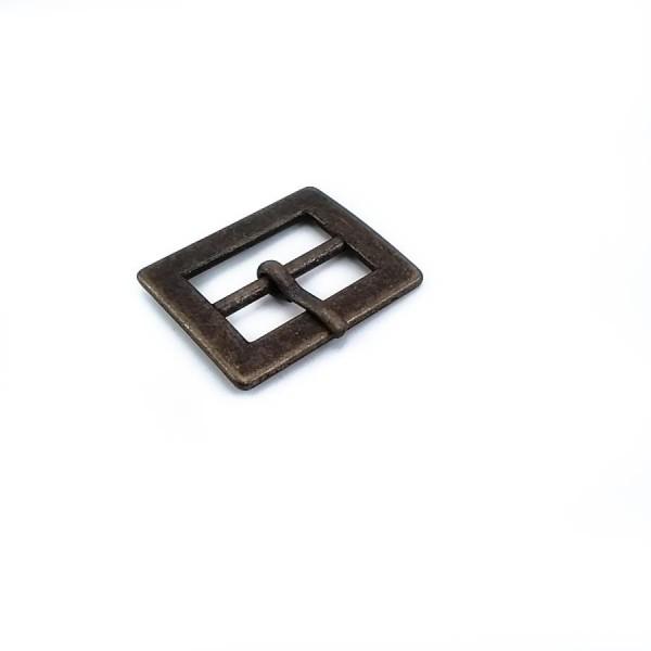 25 mm Rectangular metal plain buckle E 799