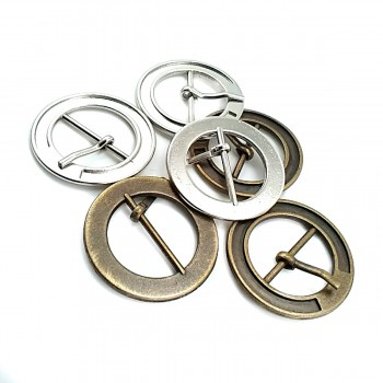 29 mm Metal Ring, Tongue Buckle E 843
