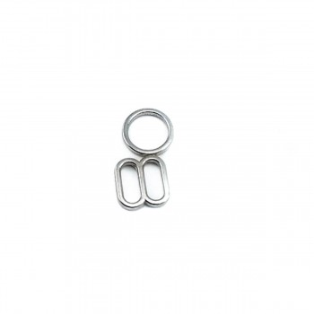 7 mm Bra Strap Adjustment Buckle and Ring E 2039