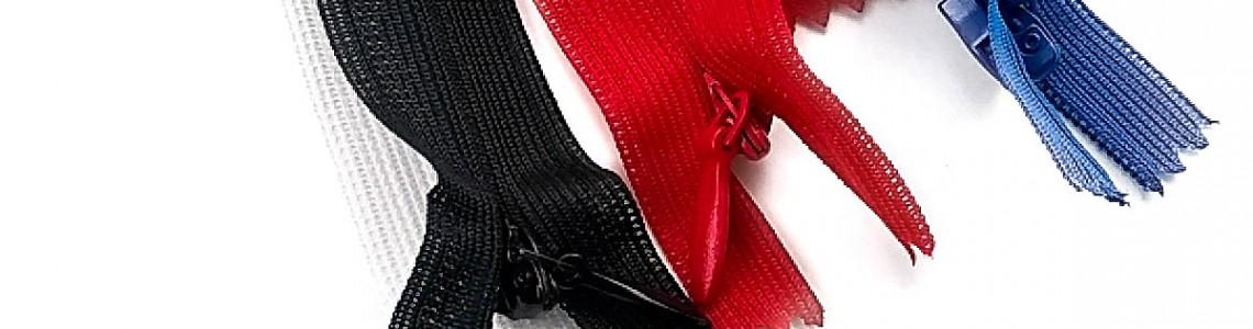 Types and Sales of Hidden Zippers